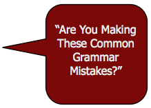 Grammar Mistakes